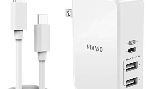 オススメACアダプター!【NimasoのレビューPD3.0&TypeCとA&PSE】